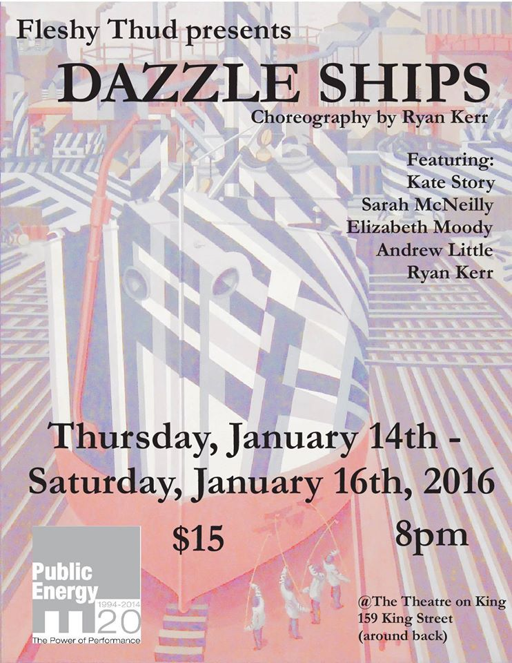 dazzle ships poster