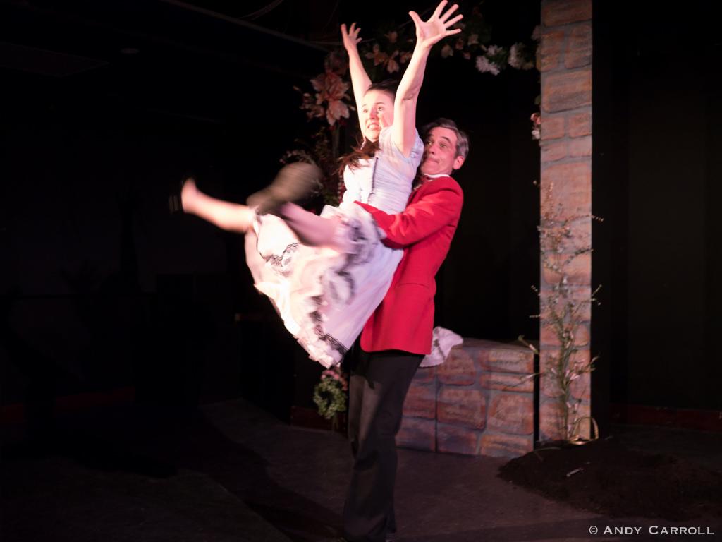 Celia (Elizabeth Moody) and Bit (Ryan Kerr)