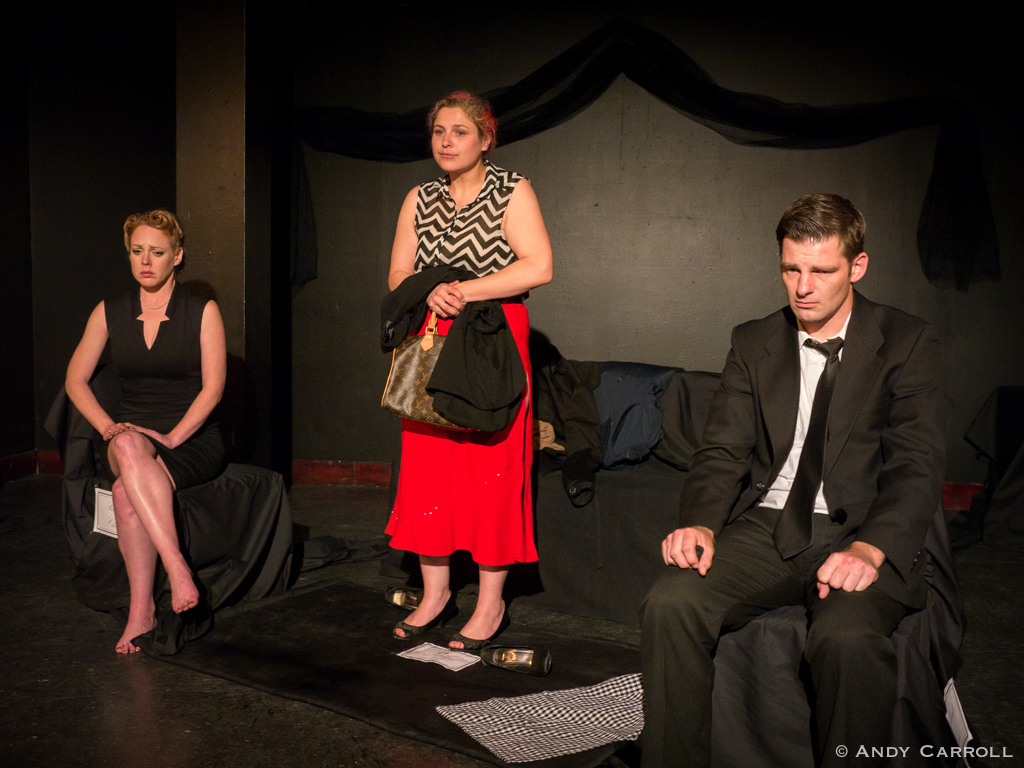 Ruth (Sarah McNeilly), Ruby (Amy Cummings), and Richard (Kenn Gibb)